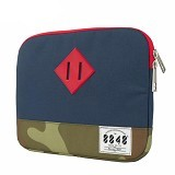 EXCLUSIVE IMPORTS Blue Camouflage Laptop Bag [I01030001030001] - Notebook Sleeve