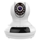 EXCLUSIVE IMPORTS Fujikam Domestic Security IP Camera FI-368 [E04030002369501] - White - IP Camera
