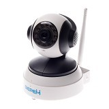 EXCLUSIVE IMPORTS SIEPEM  S6206Y-WRA 720P IP Camera [E04030001439501] - White - IP Camera