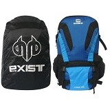 EXIST Tas Semi Carrier Cover [7-8608] - Black Blue (Merchant) - Notebook Backpack