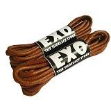 EXO Round Waxed Shoelace 70cm - Brown (Merchant) - Tali Sepatu Pria