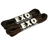 EXO Round Waxed Shoelace 70cm - Dark Brown (Merchant) - Tali Sepatu Pria