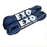 EXO Round Waxed Shoelace 80cm - Navy (Merchant) - Tali Sepatu Pria