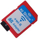 EZ SHARE Wi-Fi microSD Adapter Card Reader - Red (Merchant) - Meja Komputer