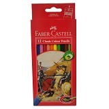 FABER-CASTELL 12 Classic Colour Pencils (Merchant) - Pensil Warna