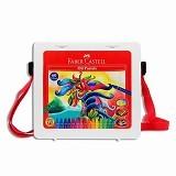 FABER-CASTELL Crayon Hexagonal Oil Pastel 60 Warna (Merchant)