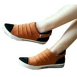FABIAN ZIAH SHOP Flat Shoes Size 39 [PT 01] - Tan - Flats Wanita