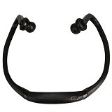 FANCY Sports Wireless Bluetooth Headset BTH-404 [CSI-OMSK12BK] - Black - Headset Bluetooth