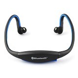 FANCY Sports Wireless Bluetooth Headset BTH-404 [CSI-OMSK12BX] - Black/Blue - Headset Bluetooth