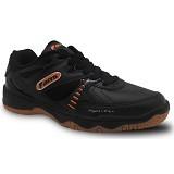 FANS Veyron O Size 43 - Black - Sepatu Tenis Pria