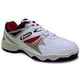 FANS Veyron R Size 39 - White Red - Sepatu Tenis Pria
