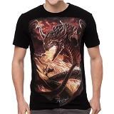 FANTASIA T-Shirt Pria Bahamut The Dragon King Size L - Kaos Pria