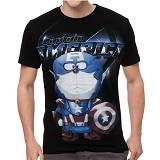 FANTASIA T-Shirt Pria Captain Dora Size L - Kaos Pria