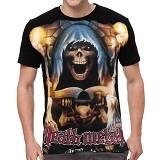 FANTASIA T-Shirt Pria Death Metal Size L - Kaos Pria