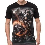 FANTASIA T-Shirt Pria Ghost Rider Origin Size L - Kaos Pria