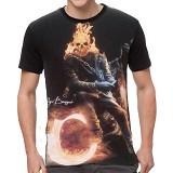 FANTASIA T-Shirt Pria Ghost Rider Size L - Kaos Pria