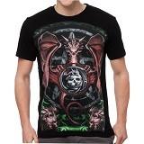 FANTASIA T-Shirt Pria Smaug The Dragon Size L - Kaos Pria