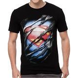 FANTASIA T-Shirt Pria Superman Ripped Size M - Kaos Pria