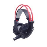 FANTECH Headset Gaming HG4 - Black/Red (Merchant) - Gaming Headset