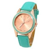 FASHION STREET Exclusive Imports Geneva Watch [635010] - Mint Green - Jam Tangan Wanita Fashion