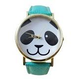 FASHION STREET Exclusive Imports Jam Tangan Wanita Strap Leather Panda [641468] - Mint Green - Jam Tangan Wanita Fashion