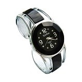 FASHION STREET Exclusive Imports Jam Tangan Wanita Strap Stainless Steel - Black - Jam Tangan Wanita Fashion