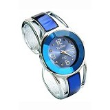 FASHION STREET Exclusive Imports Jam Tangan Wanita Strap Stainless Steel - Blue - Jam Tangan Wanita Fashion