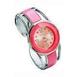 FASHION STREET Exclusive Imports Jam Tangan Wanita Strap Stainless Steel - Pink - Jam Tangan Wanita Fashion