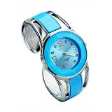 FASHION STREET Exclusive Imports Jam Tangan Wanita Strap Stainless Steel - Sky Blue - Jam Tangan Wanita Fashion