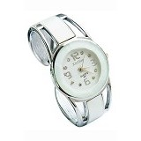 FASHION STREET Exclusive Imports Jam Tangan Wanita Strap Stainless Steel - White - Jam Tangan Wanita Fashion