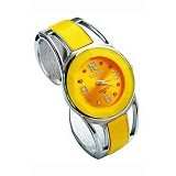 FASHION STREET Exclusive Imports Jam Tangan Wanita Strap Stainless Steel - Yellow - Jam Tangan Wanita Fashion