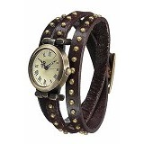 FASHION STREET Exclusive Imports Rivet Bracelet Watch [626380] - Brown - Jam Tangan Wanita Fashion
