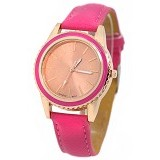FASHION STREET Geneva Jam Tangan [635009] - Rose/Red - Jam Tangan Wanita Fashion