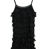 FASHION STREET Women Summer Lace Sleeveless [634351] - Black - Camisole and Tanks Top