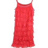 FASHION STREET Women Summer Lace Sleeveless [634353] - Red - Camisole And Tanks Top