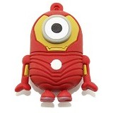 FAVOURITE Flashdisk Minion IronMan Series 4GB - Usb Flash Disk Basic 2.0