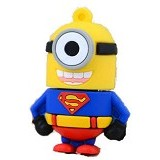 FAVOURITE Flashdisk Minion Superman Series 4GB - Usb Flash Disk Basic 2.0