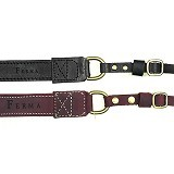 FERMA Neck Strap Leather Original [608] - Black (Merchant) - Camera Strap