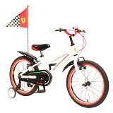 FERRARI Scuderia Kids 18 Inch - White - Sepeda Anak
