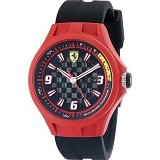 FERRARI Watch [0830006] - Black/Red - Jam Tangan Pria Fashion