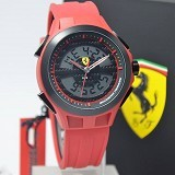 FERRARI Watch [0830019] - Red - Jam Tangan Pria Fashion