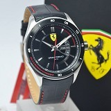 FERRARI Watch [0830183] - Black - Jam Tangan Pria Fashion
