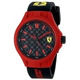 FERRARI Watch [0830194] - Black/Red - Jam Tangan Pria Fashion