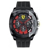 FERRARI Watch [0830205] - Black - Jam Tangan Pria Fashion