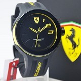FERRARI Watch [0830221] - Black - Jam Tangan Pria Fashion
