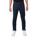 FG CLOTHING Celana Jeans Size 28 - Dark Blue (Merchant)