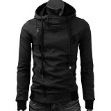FG CLOTHING Jaket Harakiri Finger High Quality Size L - Black (Merchant) - Jaket Casual Pria