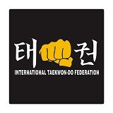 FIGHTERSTOWN Cutting Sticker Martial Arts Tae Kwon Do ITF - Organizer Mobil