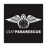 FIGHTERSTOWN Cutting Sticker U.S. Air Force Pararescue - Organizer Mobil