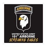 FIGHTERSTOWN Cutting Sticker U.S. Army 101st Airborne Screaming Eagle - Organizer Mobil